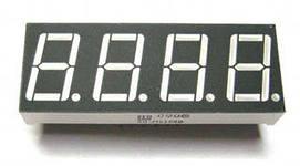 семисегментный индикатор четырехразрядный