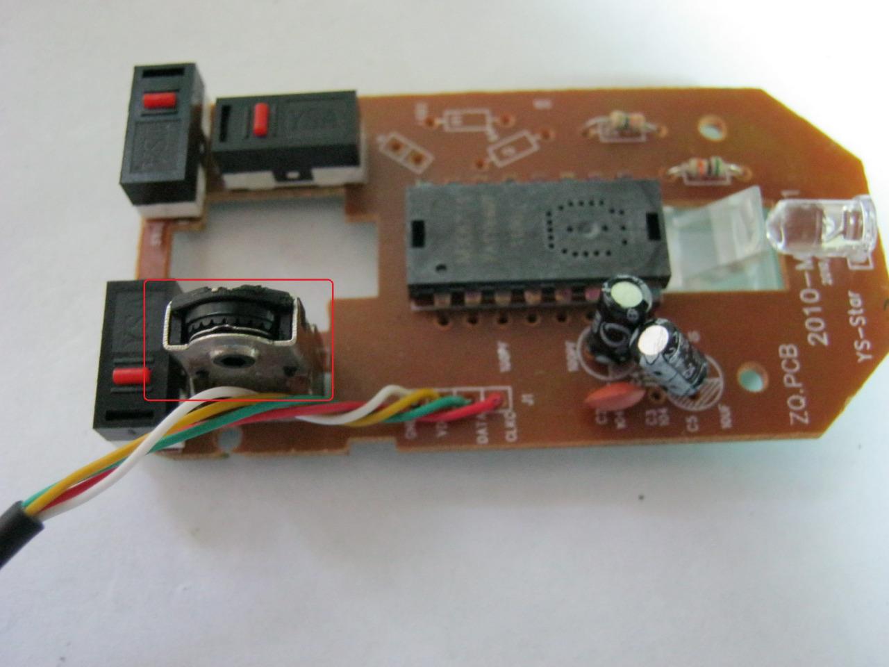 Схемы с компьютерной мышкой