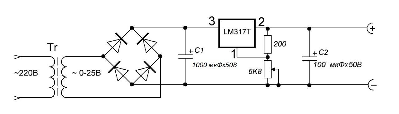 Схема простого регулятора напряжения 12в фото 59