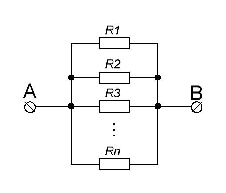 резисторы в параллель