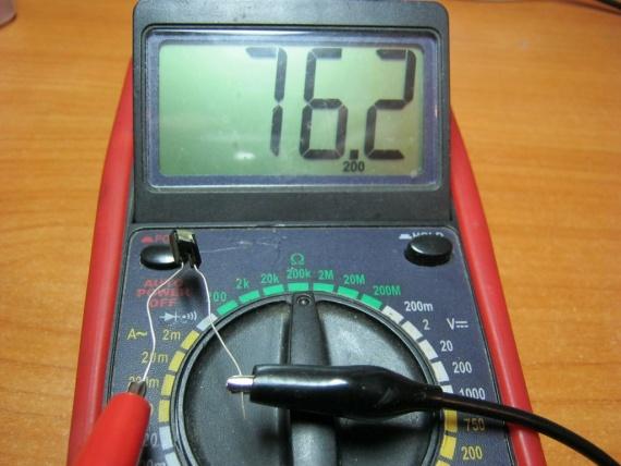 отдавали как проверить фоторезисторы этом