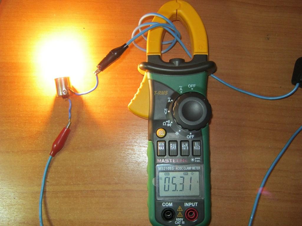 токовые клещи несколько проводов