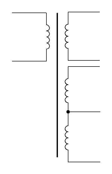 вторичные обмотки трансформатора