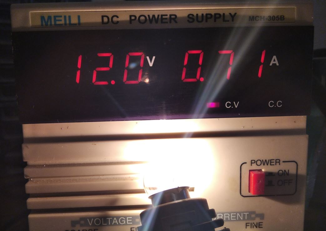 лампа накаливания потребление тока