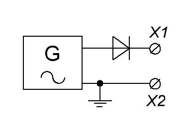 диод в цепи переменного тока