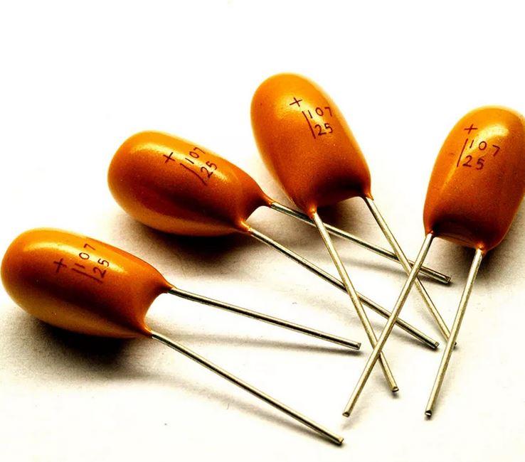 танталовые конденсаторы капли