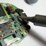 Замена гнезда зарядки Samsung X-480