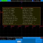 OWON SDS6062. Автоматическое измерение параметров сигнала