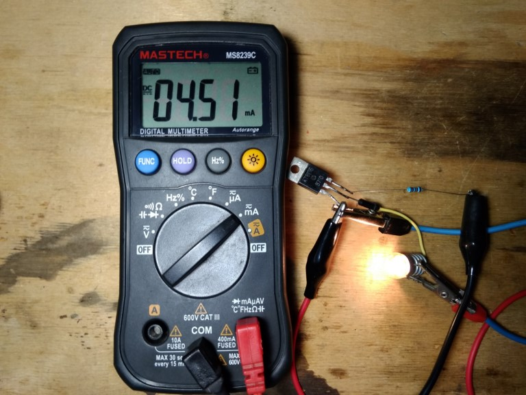 Работа транзистора в режиме ключа