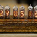 Часы на газоразрядниках. Высоковольтные преобразователи для ламп