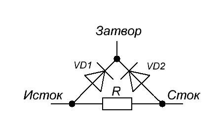 Как проверить полевой транзистор с управляющим PN-переходом