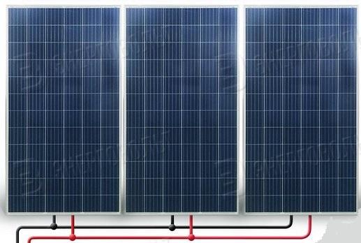 параллельное соединение солнечных панелей