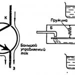 Биполярный транзистор. Работа PNP транзистора
