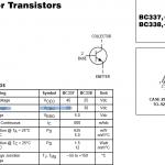 Биполярный транзистор. Основные параметры