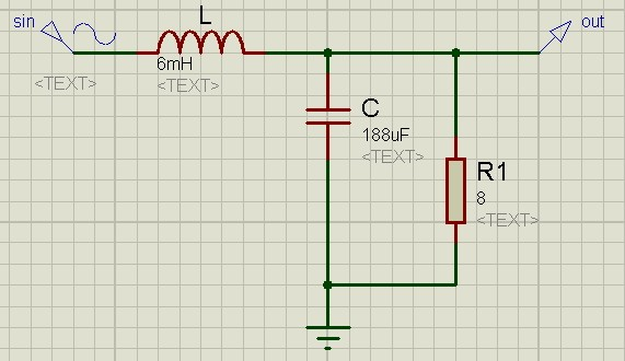 Электрические пассивные фильтры