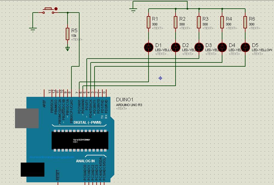 Гирлянда на Arduino c переключением эффектов