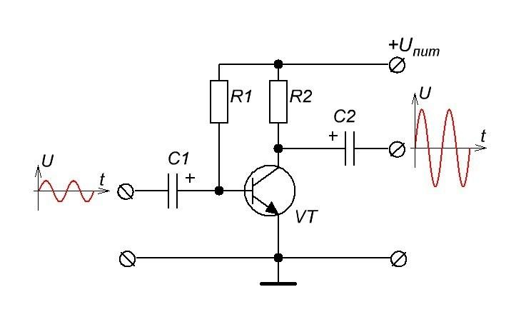 усилитель на транзисторе принцип работы