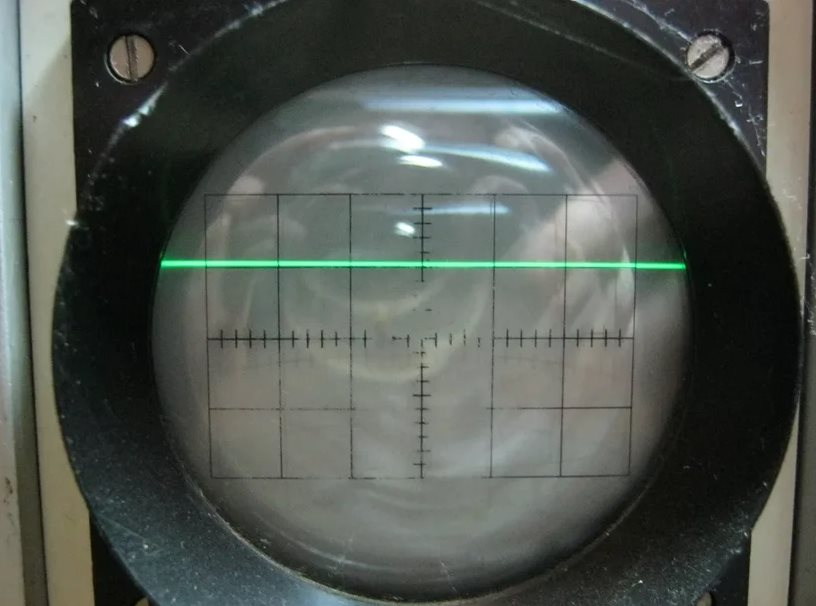 постоянный ток на осциллограмме