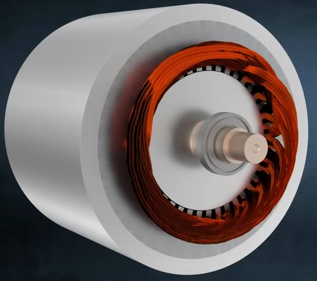 асинхронный двигатель Тесла