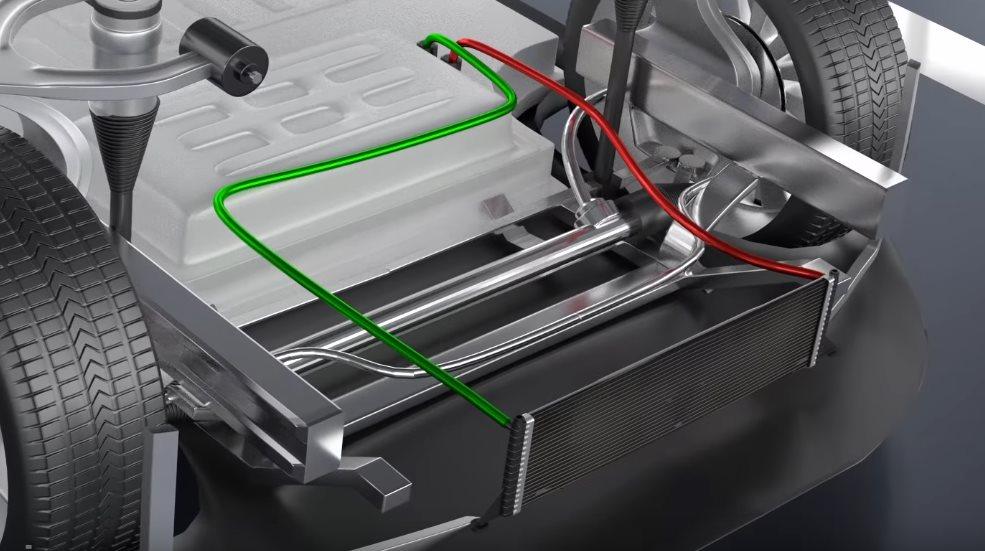 радиатор охлаждения тесла