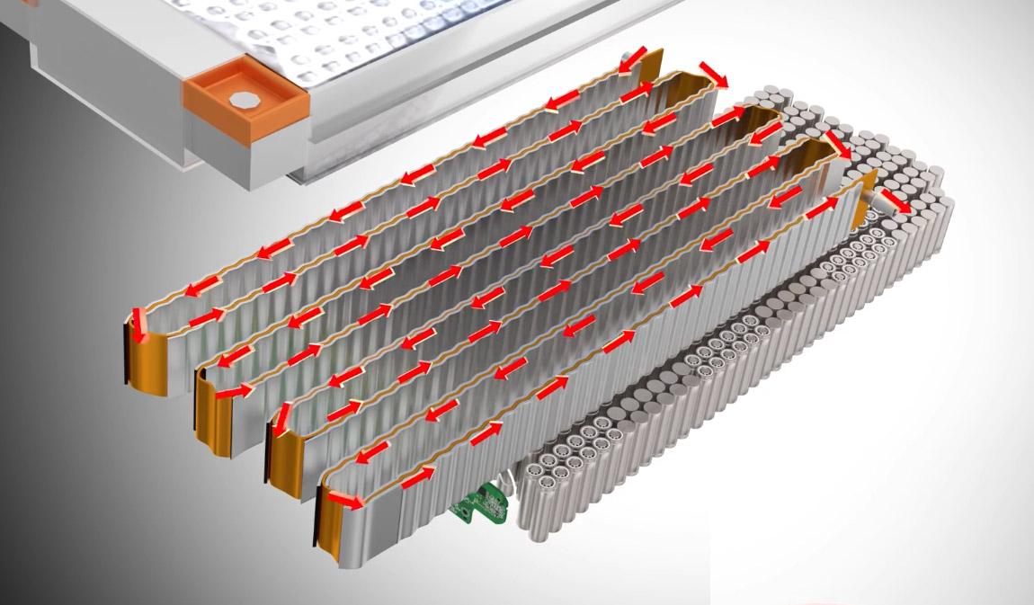 радиатор для аккумуляторов Тесла
