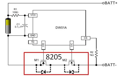 схема защиты литий-полимерный аккумулятор