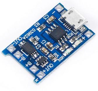 Micro USB 5V 1A 18650 TP4056