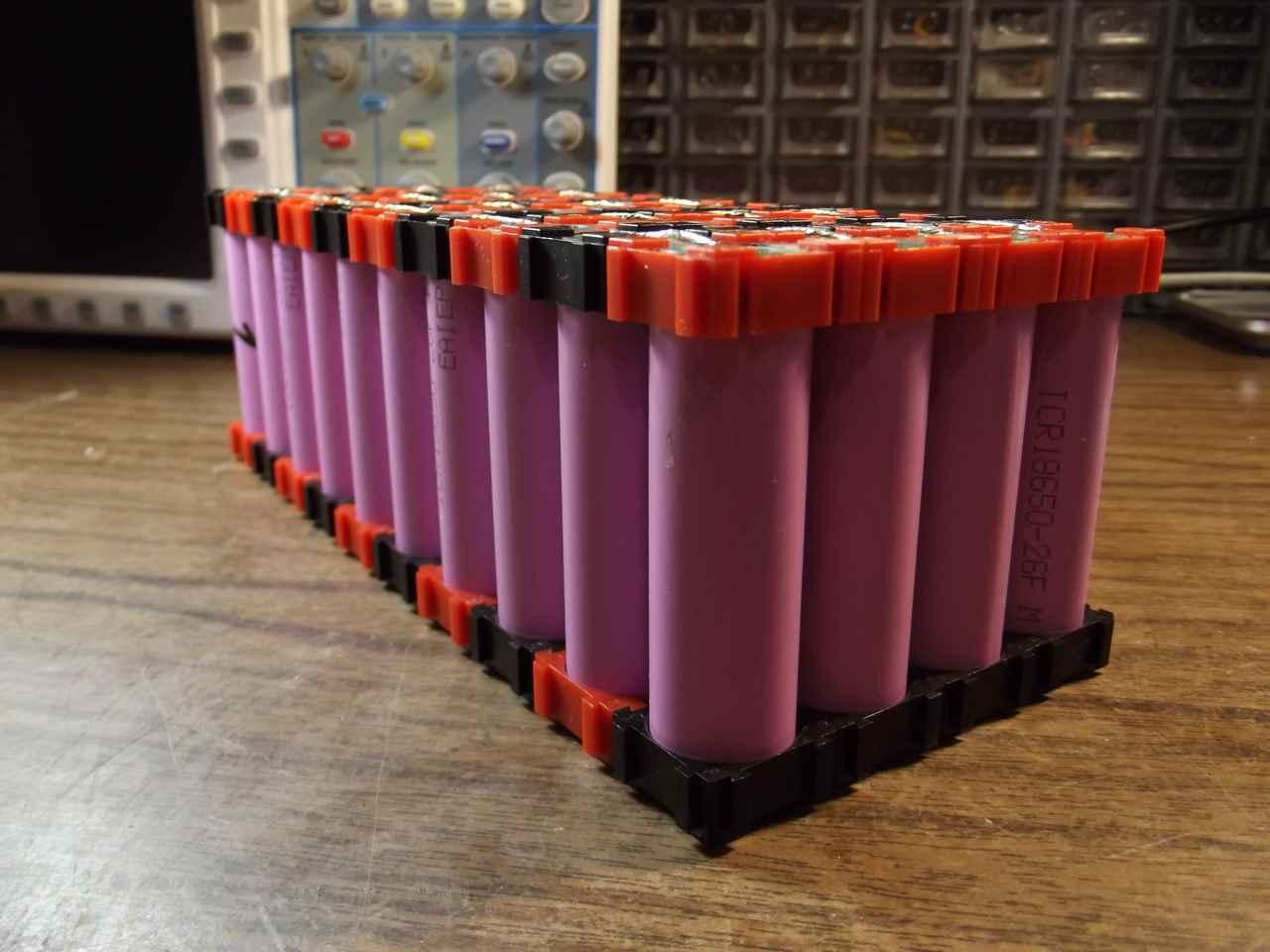 батарея 10s4p для электровелосипеда