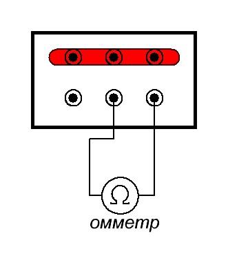 измерение сопротивления обмоток двигателя