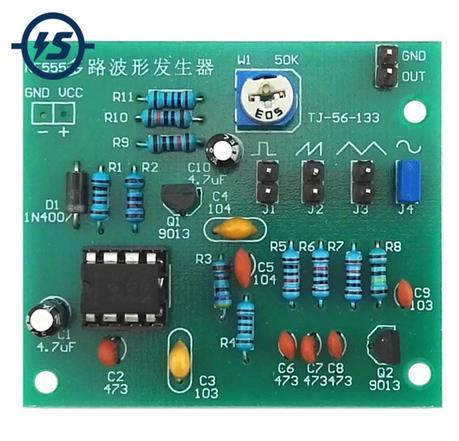 модуль простейшего генератора частоты
