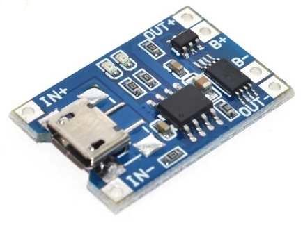 модуль зарядки для литий ионного аккумулятора
