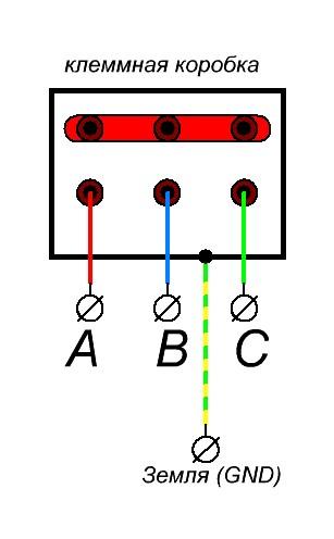 подключение асинхронного двигателя к трехфазной сети