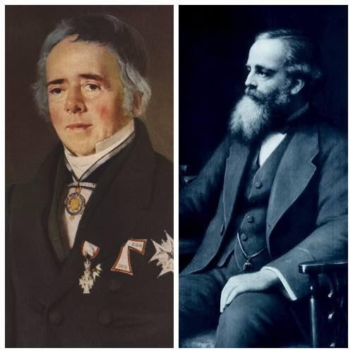 Ганс Эрстед и Джеймс Максвелл