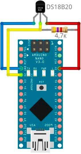 DS18B20 и Arduino