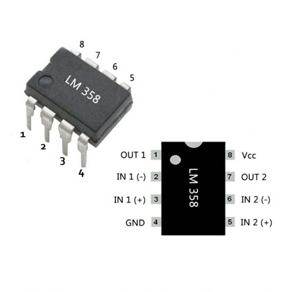 Характеристики LM358