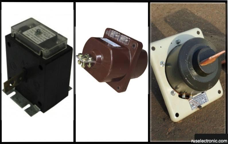 Виды трансформаторов тока