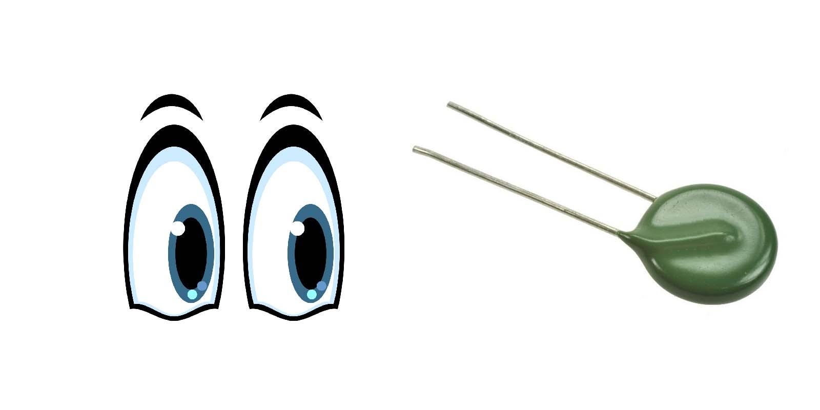 Глаза и варистор