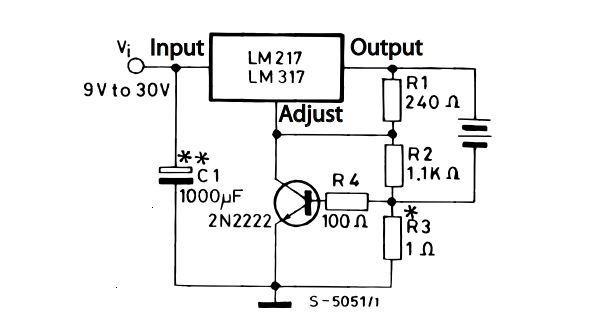 Зарядное устройство с lm317