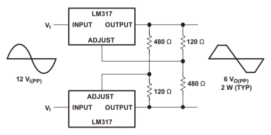 Схема AC регулятора