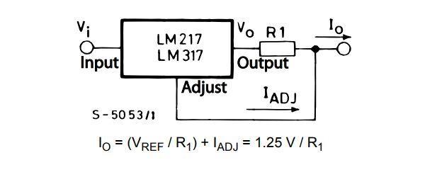 Светодиодный драйвер и lm317