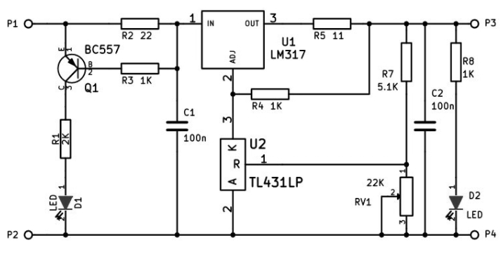 Схема зарядки для литиевых аккумуляторов