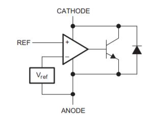 Схема TL431