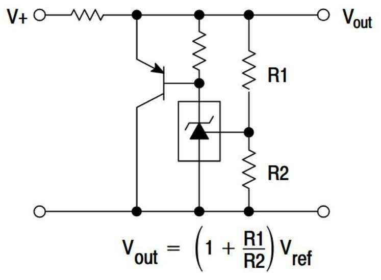 Стабилизатор напряжения с увеличенным максимальным током