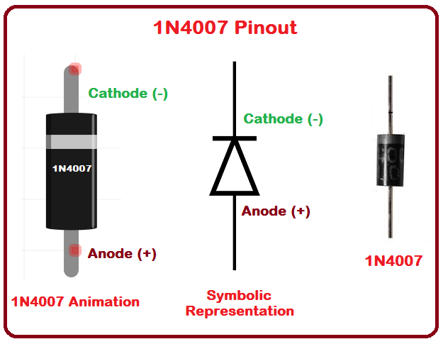 Схема диода 1N4007