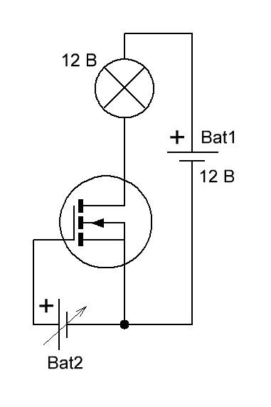 irfz44n схема