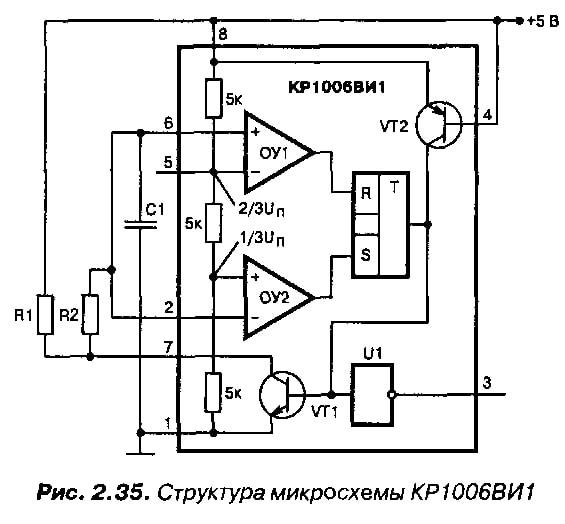 Распиновка КР1006ВИ1